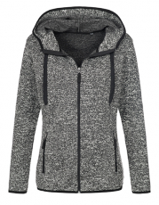 Knit Fleece Jacket Woman 270 g/qm