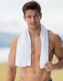 Weiches Sporthandtuch für viele Einsatzbereiche
