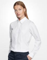 Seidensticker - Absolut bügelfreie Bluse Regular Fit langarm Schwarz