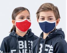 Wiederverwendbare und waschbarePremium Mund-Nasen-Maske 2-lagig passend für Schulkinder und Teenager in modernem Design