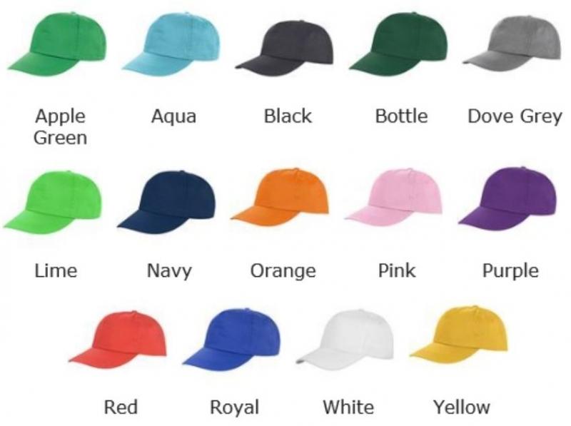 Günstige Cap zum Besticken in 14 Farben