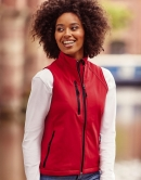 Ladies Soft Shell Gilet 340 g/qm