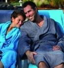 Bademantel mit Schalkragen für SIE & IHN