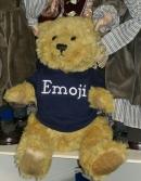 Klassischer Gelenk Teddy Bär mit abnehmbarem Hoodie und persönlicher Namensstickerei