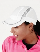Coolmax® Flow Mesh Cap mit Reflektionsstreifen