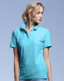 Double Piqué Polo Ladies 210 g/qm