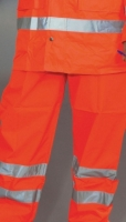 Sicherheitshose Over Trousers Orange