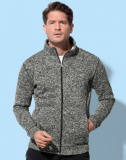 Knit Fleece Jacket Men 270 g/m²