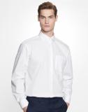 Business Hemd von Seidensticker. Absolut bügelfreies Hemd Modern Fit langarm mit Brusstasche und Kent Kragen