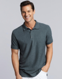 Premium Cotton Double Piqué Polo Men 223gm2