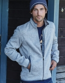 Outdoor Strickfleece Jacke Men 280 g/qm