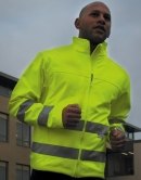 High-Viz Soft Shell Jacke