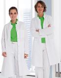 Arztkittel - Arztmantel - Labormantel weiss