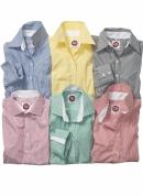Bügelfreies gestreiftes Hemd