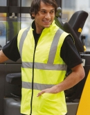 Hi-Vis Fleece wende Bodywarmer