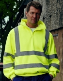 Hi Vis 1/4 Zip Antipilling Fleece