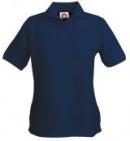 Polo Shirt Lady bügelfrei, antibakterielles Gewebe (Verhinderung von Hautreizungen und Verminderung von Schweissgeruch)