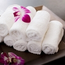 Premium Hotel Handtuch weiss 530g/m²