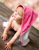 Hochwertiges Kapuzenbadetuch bestickt mit Motiv und Namen