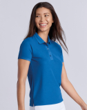 Performance® Ladies Double Piqué Polo Sport