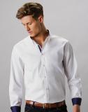 Tailliertes Premium Contrast Oxford Hemd