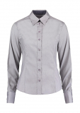 Taillierte Premium Contrast Oxford Bluse