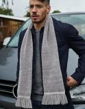 Klassisch gestrickter Schal für SIE & IHN / Luxus-Doppellagenstrick