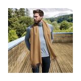 Klassischer Woll Schal für SIE & IHN / Luxuriöses, weiches Garn