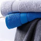 Walkfrottier Gäste-/Hand-/ Dusch-/Bad-/ Sauna Tücher aus Bio-Baumwolle - sehr weicher Griff in modischen Design. 420g/m2