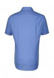 Business Hemd von Seidensticker. Absolut bügelfreies Hemd Slim Fit kurzarm mit Kent Kragen
