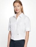 Seidensticker - Absolut bügelfreie Bluse tailliert Slim Fit kurzarm