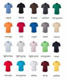 Popeline Bluse bügelleicht kurzarm in 20 verschiedenen Farben