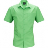 Popeline Business Hemd kurzarm, bügelleicht mit Brusttasche in 11 verschiedenen Farben