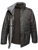 Men´s Benson III Breathable 3 in 1 Jacket, schwarz Grösse M