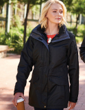 Women´s Benson III Breathable 3 in 1 Jacket, schwarz Grösse M