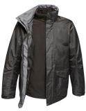 Women´s Benson III Breathable 3 in 1 Jacket, schwarz Grösse M
