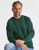 Robustes Classic Sweatshirt, Rojalblau und Schwarz Grösse L