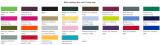 Kissenbezug in vielen Farben 40x40cm und 30x50cm