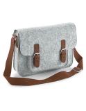 Premium Filz Tasche mit Akzente in Lederoptik - Vielseitig einsetzbar