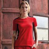 Ladies Workwear T-Shirt Bio-Baumwolle/Recycelter Polyester, viele Farben XS-4XL