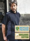 Men's Workwear Polo Bio-Baumwolle/Recycelter Polyester, viele Farben XS-6XL