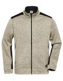 Strickfleece Workwear Jacke Men viele Farben XS-6XL